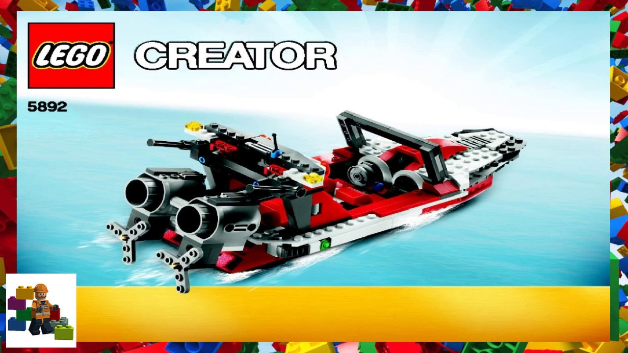 Lego instructions creator 5892 sonic boom book 3 - Lego sonic boom ...