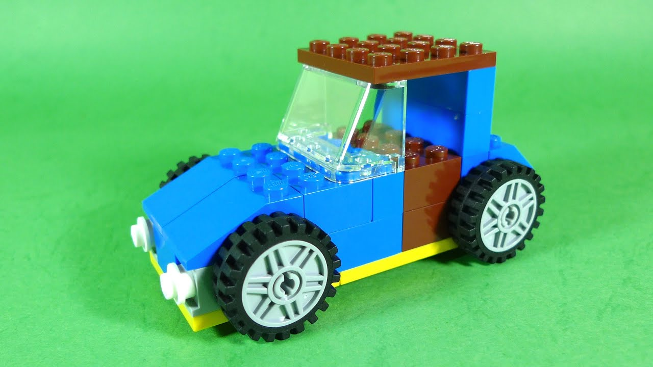 how to build lego car 4630 lego build play box building instructions for kids youtube