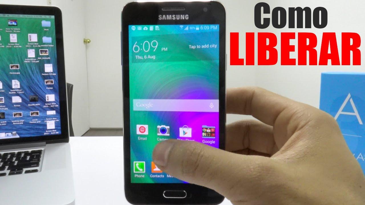 Como Liberar Samsung Galaxy A3 A5 A7 A8 A9 J1 J2 J3