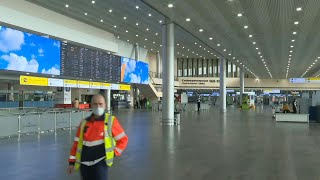 Moscow Airport Empty As Russia Shuts Borders To All Foreign Citizens | Afp