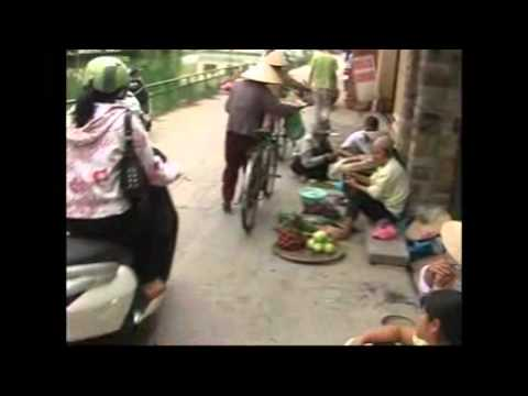 Indochina Pioneer Old Hanoi Street life.wmv