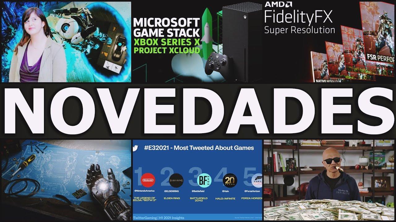 FSR DE AMD YA ESTA DISPONIBLE   MICROSOFT ALCANZA UN VALOR DE 2 BILLONES   BUEN FICHAJE EN XBOX