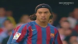RONALDINHO ● FC Barcelona Season 2005/2006 review