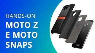 Moto Z e moto snaps [Hands-on]