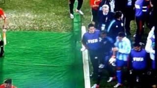 Argentina - Messico 2-0 ''Rissa a fine Primo Tempo''