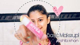 Basic Makeup || ARISHFA KHAN