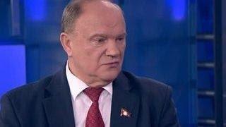 Зюганов: немец-хам ведет себя с Ольгой Скабеевой по-фашистски