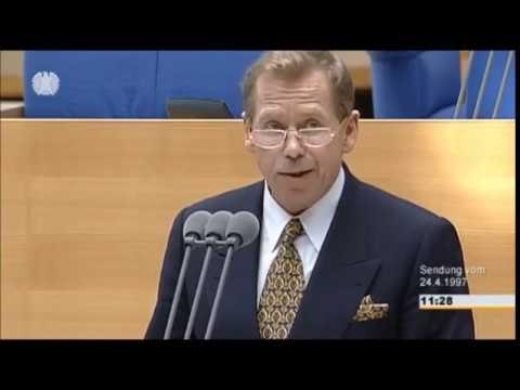 Vor 20 Jahren: Václav Havel spricht im Deutschen Bundestag