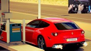 Forza Horizon 3 GoPro - Racha de Ferrari FF 2011 - Volante G27