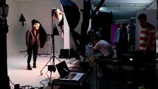 Съёмка мужской коллекции FW14 от Sanahunt в студии F2F.Часть 1.(Shot at F2F: Топ, топ, топает малыш....