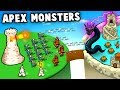 Huge Magic Castle Siege vs New Monsters and Dragons! (Circle Empires Apex Monsters DLC)