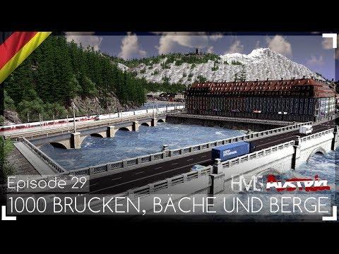 1000 BRÜCKEN, BÄCHE UND BERGE - Austria Episode 29 | Let's Design Cities: Skylines