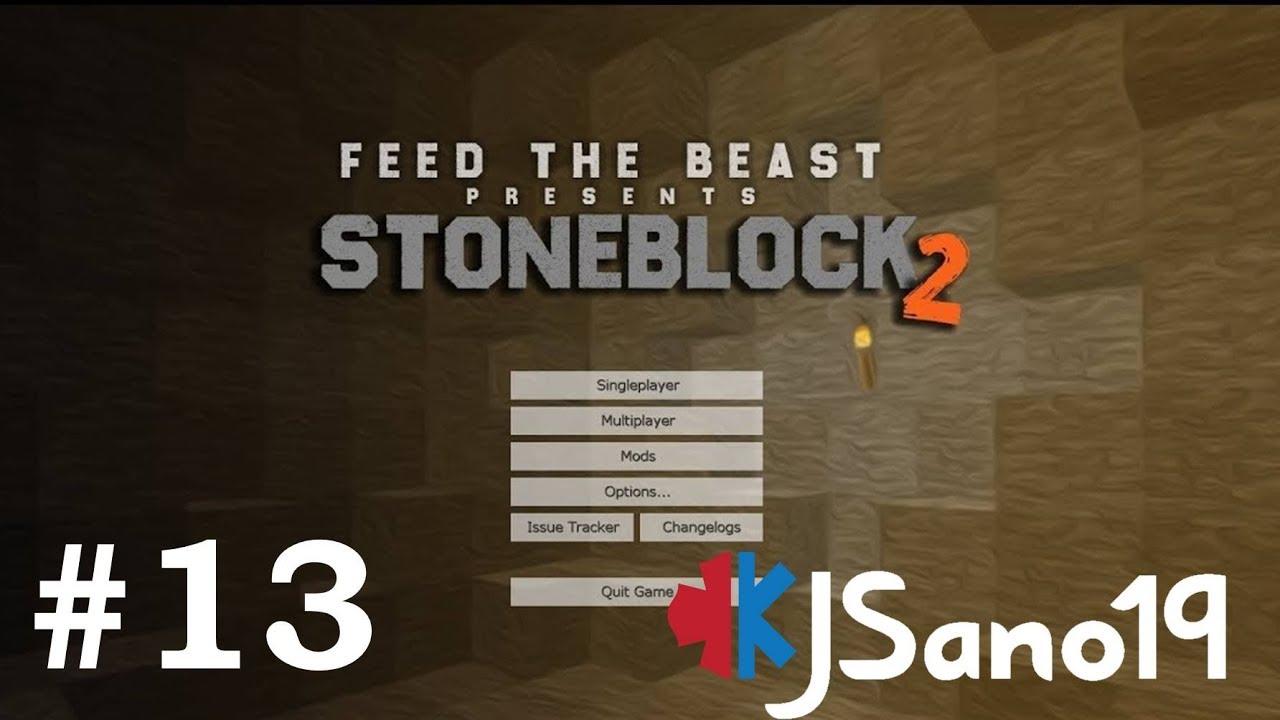 StoneBlock 2 - E13 - Starting draconic (Modded Minecraft)