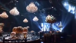 Шикарное оформление свадебного зала от Марии Каменской