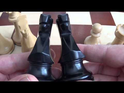 Staunton Series Weighted - Chessbazzar - Chess Set Review - FAIL