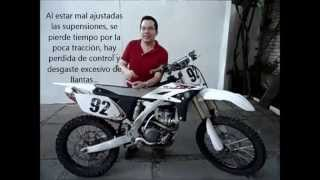 Como Regular Suspension - Clicks Compresion y Rebote de Moto