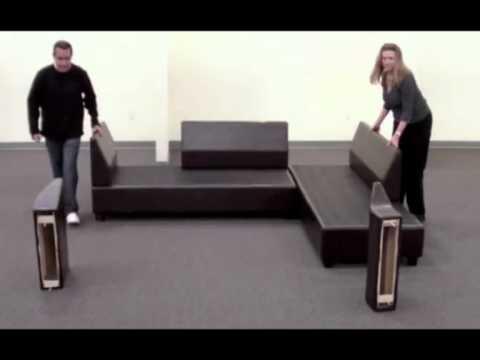 Chaise Sofas Perth - Unique Reversible Chaise