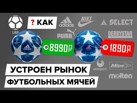 Как устроен рынок футбольных мячей? | Как выбрать?