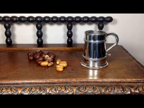 Celtic knot pewter tankard from ARWentworth