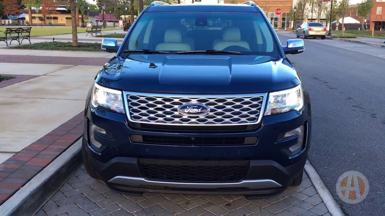 2017 ford explorer platinum real world review video youtube. Black Bedroom Furniture Sets. Home Design Ideas