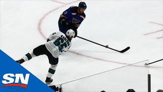 Erik Karlsson Scores From Way Out For First Goal Of The Playoffs