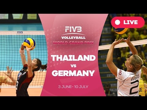 Thailand v Germany - Group 1: 2016 FIVB Volleyball World Grand Prix