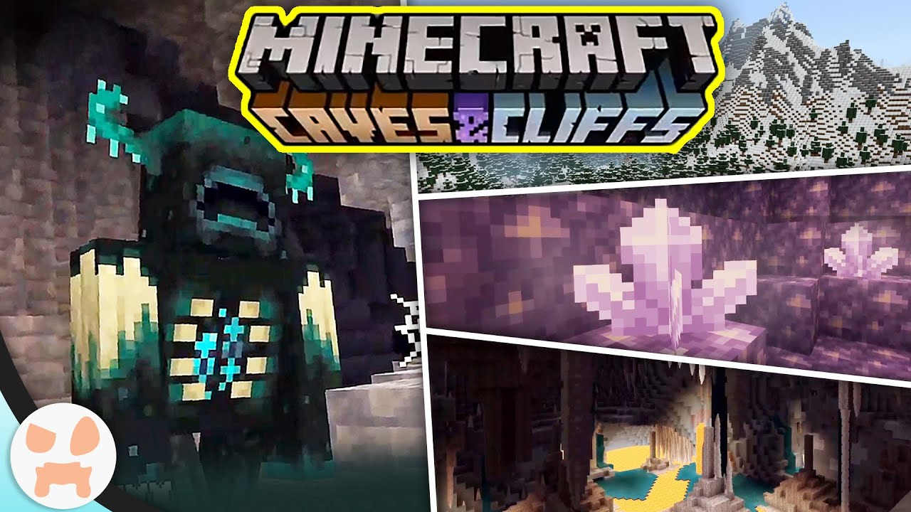 The 'Caves and Cliffs Update' for Minecraft is massive, coming ...