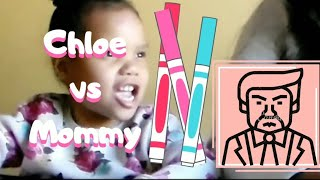 3 MARKER CHALLENGE | SAHM vs KID | FUN GAMES FOR TODDLERS | CHRISTMAS WISH LIST | THOUGHTS ON TRUMP