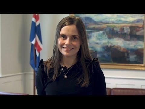 Katrín Jakobsdóttir, Prime Minister, Iceland