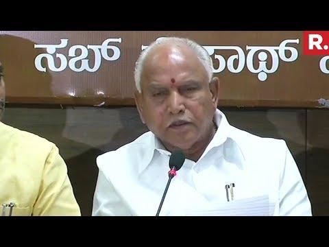 Congress Trying To Come To Power Via Backdoor Says Yeddyurappa   Karnataka Elections 2018