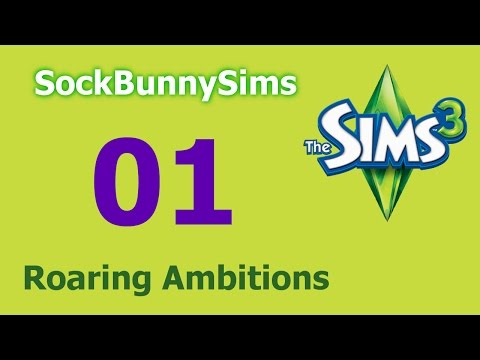 Sims 3 - Roaring Ambitions - Ep 01 - Introductions