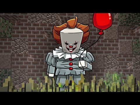 HOW TO PLAY MINECRAFT AS IT THE CLOWN! (Pennywise in Minecraft)