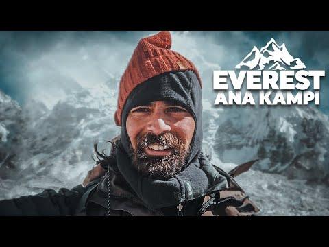 Nepal'de Everest Ana Kampı Yürüyüşü: 15 Günün Sonunda Vardım! (5600m)