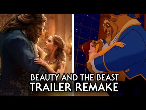 Beauty and The Beast 2017 Trailer Recreated From The Original Film