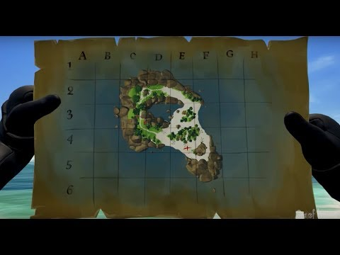 SEA OF THIEVES HOW TO GET A TREASURE MAP