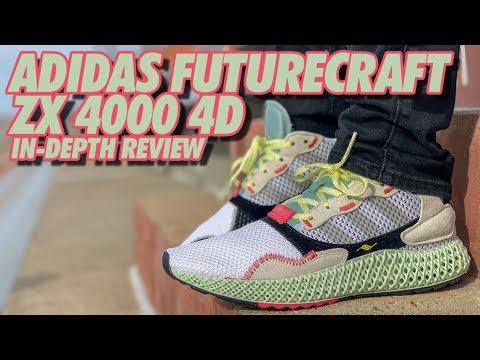 8f651dc401799 ADIDAS FUTURECRAFT ZX 4000 4D ON-FEET REVIEW!