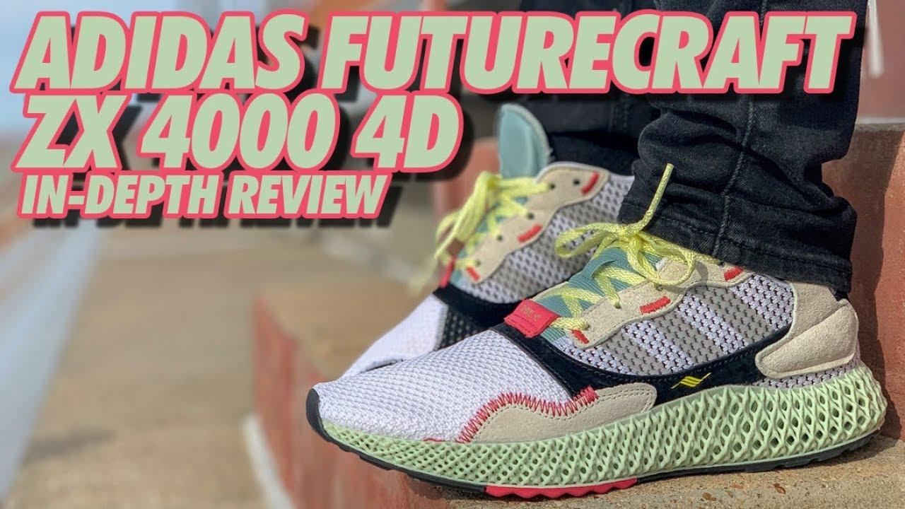 8cf039b9bb52 ADIDAS FUTURECRAFT ZX 4000 4D ON-FEET REVIEW! - YouTube