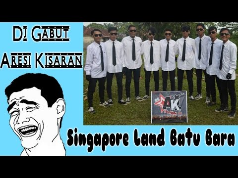Dj gabut Versi Aresi di Wahana Singapore Land Kabupaten Batu Bara