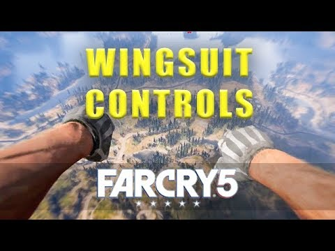 Far Cry 5 wingsuit controls