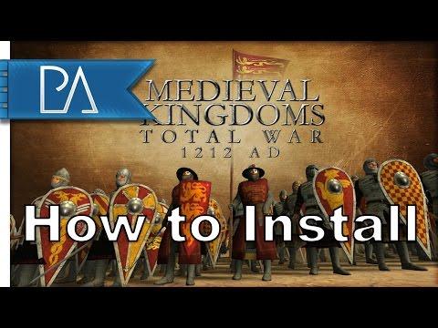 How To Install Medieval Kingdoms Total War 1212AD (Total War: Attila)