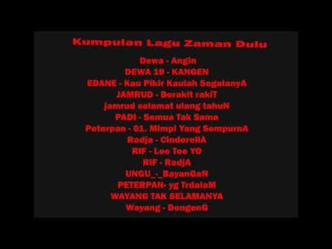 Kumpulan Lagu Hits Zaman Dulu Youtube