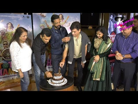 Jaaved Jaaferi, Pitobash & Others At Screening Of 'Total Dhamaal'