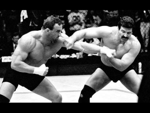 dan severn_Mark Coleman vs Dan Severn - Knee To The Head Clinch KO! - YouTube