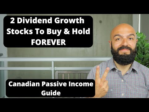 2 Canadian Dividend Stocks To Buy & Hold Forever