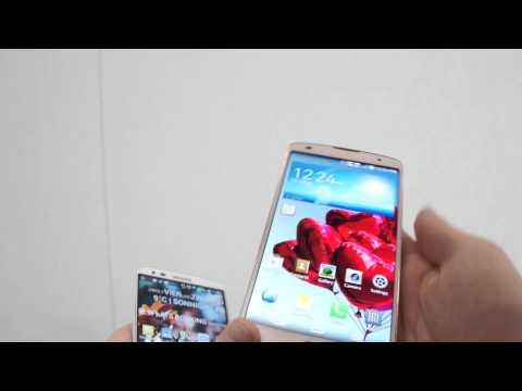LG G Pro 2 vs. LG G2 comparison english