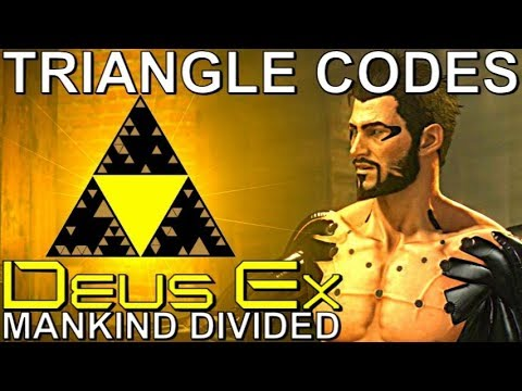 All 35 Triangle Codes Guide - Deus Ex: Mankind Divided