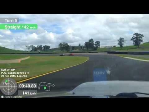 Sydney Motorsport Park GP Circuit 1m 46.7