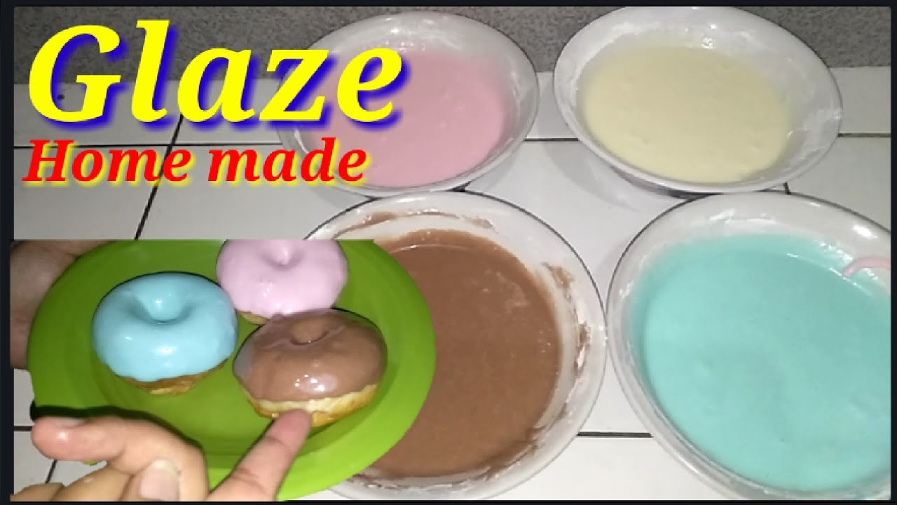 Membuat Glaze Home Made Toping Donat Nughet Make Glaze Home Made Winiewn Toping Donuts Nughet Youtube