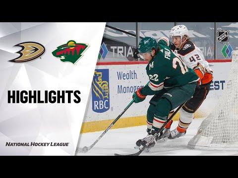 Ducks @ Wild 5/8/21 | NHL Highlights