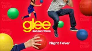 Night Fever - Glee [HD Full Studio]